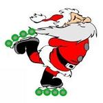 NY Santa on rolls 2013 150