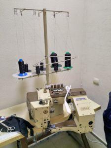 Немецкий станок для сшивания трубчатых деталей
